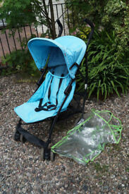 Mothercare Pick n Mix Buggy with Raincover in Light Blue colour