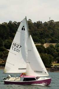 Hartley TS 16 sail boat
