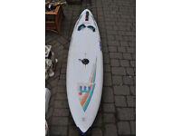 mistral challenge flex wind surf board