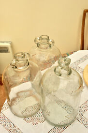 Demijohns for winemaking