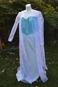 Elsa Robe Dress Frozen Disney High Quality Custom Halloween