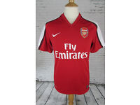 VINTAGE ARSENAL FOOTBALL SHIRT 2008-10 HOME NIKE SOCCER XL***WILLING TO POST***