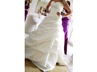 Wedding dress Ellis 11032 size 12