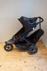 Phil and Teds Sport, Phil &Teds Double Buggy, Twin Buggy, Pushchair, Pram