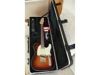 Fender American Deluxe Telecaster 2010 – 3 Colour Sunburst – Rosewood Neck