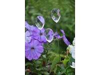 3 Crystal Stake Sun catcher - BUY 2 FOR THE PRICE OF 1
