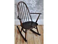 Vintage Retro 60's Style Ercol Quaker Rocker Rocking Chair mdl 428