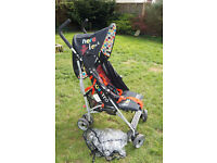 Cossato Hipo Here I Am with Raincover Stroller