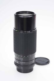 SIGMA 75-250MM F4-5 MC ZOOM LENS 75-250/4-5 PENTAX