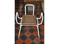 Washing Chair Non Slip Seat Everyday Perching Stool Aid