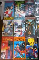 Anime Animation 30 VHS Video Tapes Collection Near Mint + Rare