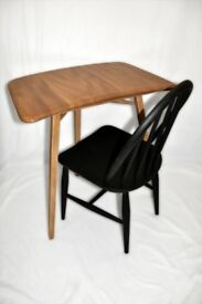 Vintage Retro 60's Ercol Windsor Three Legged Extension Table / Desk - As New - Renovated