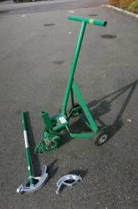 """Greenlee 1800 Mechanical Bender For 1/2"""", 3/4"""", 1"""" Imc And Rigid Conduit"""
