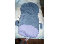 Disney Eeyore foot muff with mittens lovely and warm