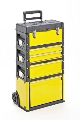 Werkzeugkasten Trolley Werkzeugtrolley METALL Kunststoff Werkstattwagen trolly