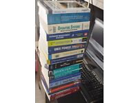 18 Computer Science Textbooks. Used to support CS lectures material.