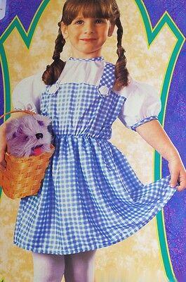 Baby Girls Infant Dorothy The Wizard of Oz Halloween Purim Costume Size 1 2 NEW (Baby Girl Dorothy Costume)