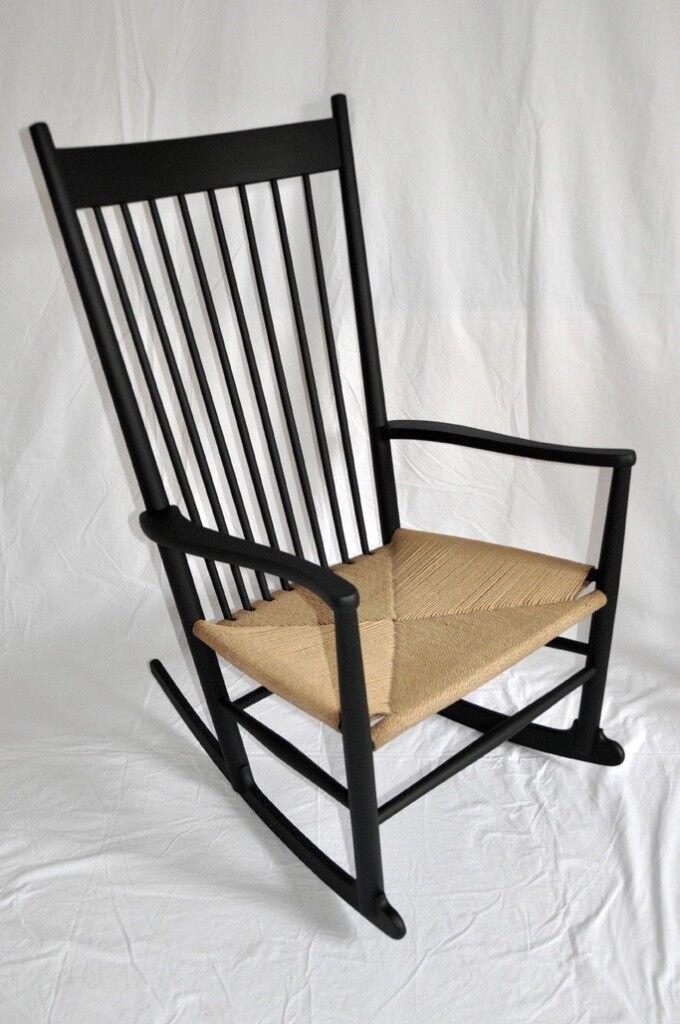 Vintage Retro 60's Danish Hans J. Wegner J16 Shaker Style Rocking Chair