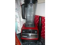 Vitamix total nutrition centre red