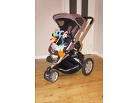 ***Quinny Buzz 3 pushchair & pram, with car seat maxi cosi and accessories***