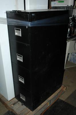 4 Drawer Schwab Safe Co Class 350 Fireproof Vertical File Cabinet 31x16.5x53.5