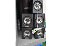 offers 5 x speakers + subwoofer daewoo
