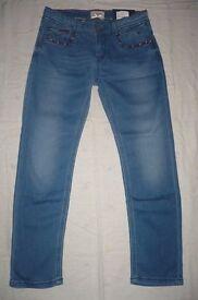 Toddler girls Tommy Hilfiger jeans size 7
