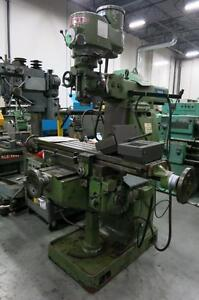 First Milling Machine LC-1 VS, 3hp, 3phase, 220/440 volts
