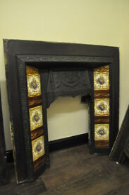 cast iron fireplaces reclaimed