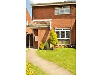 Rare find 2 Bed Semi-Detached House with garage and 2 spacious gardens available August/September
