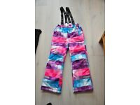 Girls skiing trousers Lego (Age 10 / Height 140cm)