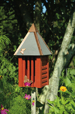 Heartwood Flutterbye Butterfly House - Redwood 095C Butterfly House NEW