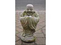 happy fat buddha ornament