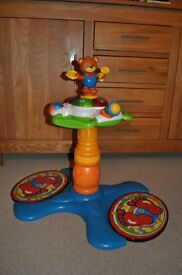 Vtech Sit to Stand Musical Dancing Bear - great condition
