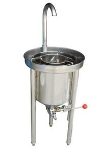 20KG Commercial Rice Washer- Hydraulic Pressure Type 160672
