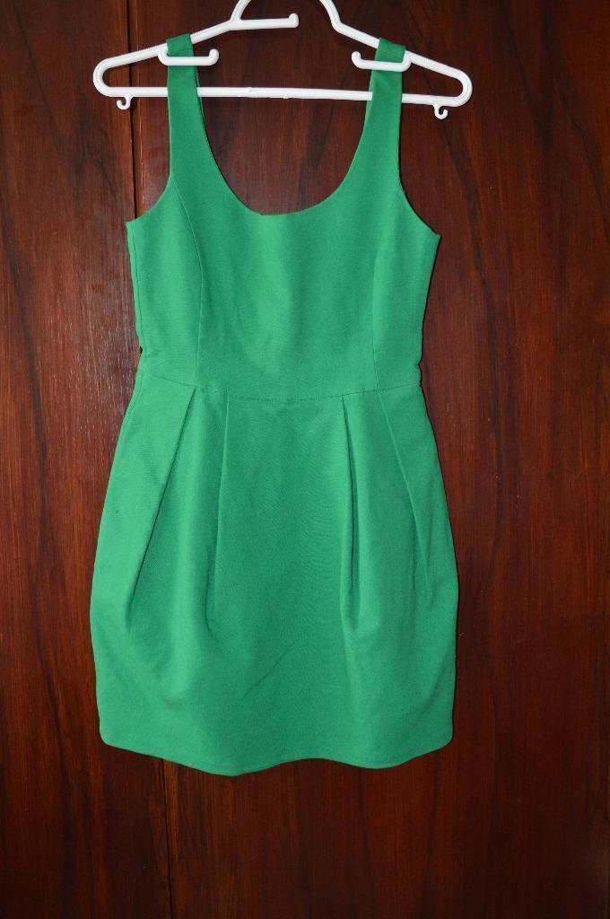 Zara Tulip Dress For Sale Zara Green Elegant Tulip Dress