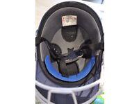 Gray-Nicolls cricket helmet, men's size 59-60cm