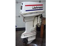 JOHNSON 40hp VRO OUTBOARD ENGINE - ELECTRIC START - LONG SHAFT