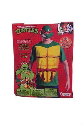 Disguise Adult Mens  RED Teenage Mutant Ninja Turtles Raphael Costume Large / XL