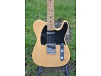 Fender Telecaster Baja classic player Butterscotch blonde and solid case