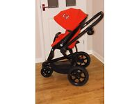 QUINNY MOOD pushchair / pram 2 In 1 and accessories.