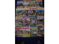 HOME BUILDING & RENOVATING MAGAZINES X 17 1990's-2001 - GOOD USED - COLLECT ONLY BENFLEET