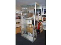 Glass Display Cabinet - Collection Only