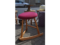quirky waveseat rocking stool