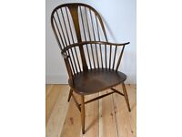 Vintage retro 60's Ercol ercol windsor Chairmakers fireside armchair (model 911)