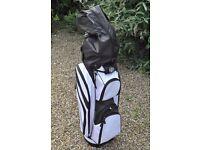 Wilson DynaBuilt Professional Perimeter Weighted Golf Iron Set inc. Woods, Putter & New Golf Bag