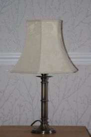 Antique Brass effect Table Lamp