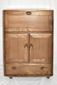 Vintage Retro 60's Ercol Windsor Server / Bureau / Desk / Drinks Cabinet - As New - Fully Renovated