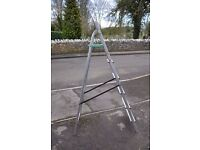"""Step ladder, green step stands at 53""""/1.35m from the ground"""