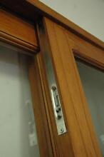 SLIDING CEDAR TIMBER DOOR, FLY SCREEN, STAINLESS HARDWARE, NEW Vineyard Hawkesbury Area Preview